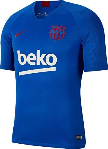 Nike FCB M Nk BRT Strk Top SS Short Sleeve, Herren S Blau/Rot (Lyon Blue/Lyon Blue/Noble red)
