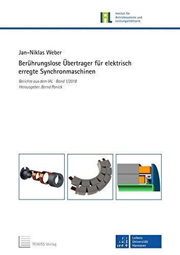 Berührungslose Übertrager für elektrisch erregte Synchronmaschinen (Berichte aus dem IAL)