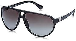 Calvin Klein Gradient Aviator Men Sunglasses (Ck 3154 001 62 S|62 millimeters|Grey)