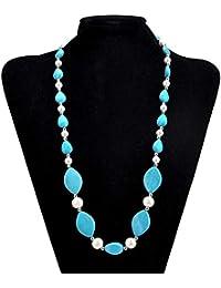 e3b57263e2df Amazon.es  collar turquesa - Collares colgantes   Collares con ...
