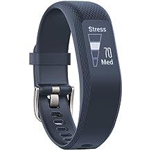 Garmin VivoSmart 3Fitness Tracker con sensor Cardio en la pulsera, Azul