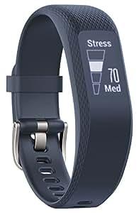 Garmin vívosmart 3 Fitness-Tracker, 24/7 Herzfrequenzmessung am Handgelenk, Smart Notifications, zahlreiche Fitness-Funktionen, Tagesziele, OLED Touchdisplay, S/M
