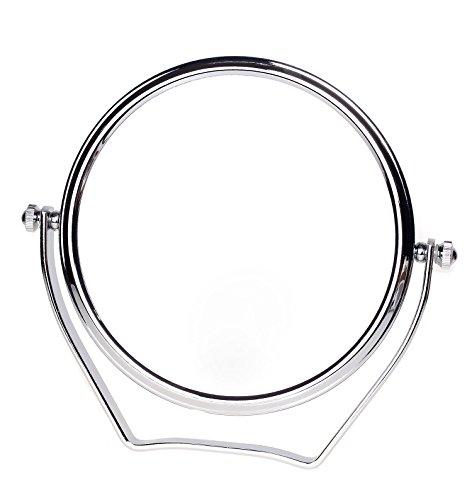 TUKA Designed Kosmetikspiegel 10 Fach, 6 inch Doppelseitiger Tischspiegel Handspiegel Reisespiegel,...