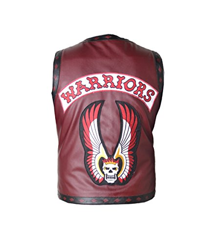 Swan Ajax NY Gangster The Warriors Vest For Men in Faux Leather XXS-5XL in Different Colors