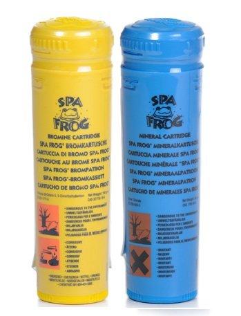 SPA Frosch Brom und Mineral Patronen Hot Tub -