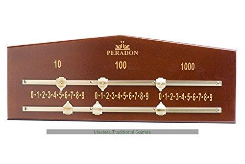 Peradon Scoreboard for Billiards and Bar Billiards (2 Lane)