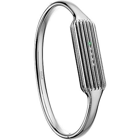 Fitbit Flex 2 Bracelet D'activité Mixte, Taille unique, Argent,