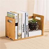 HLJ Simple Desktop Bookshelf Personalisiertes Rack Creative Desktop Kleines Bookshelf-Schlafsaal Schreibtisch-Aufbewahrungsregal