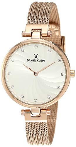 Daniel Klein Analog Silver Dial Women's Watch-DK11904-2