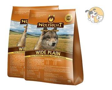 Wolfsblut Wide Plain Adult 2x15kg Familienpaket