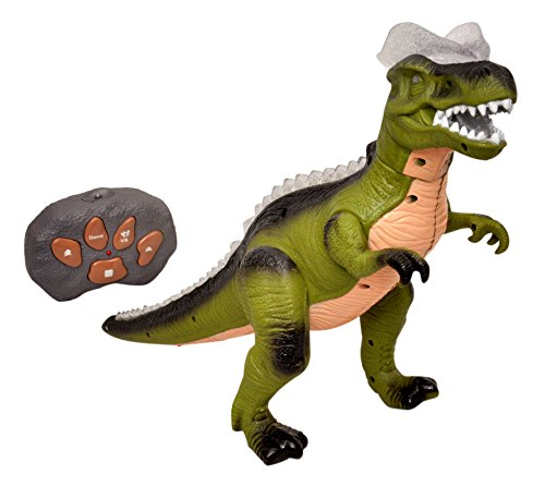 Toyshine Big Size 16 Inches T.Rex Action Dinosaur with Walking and Dancing Function