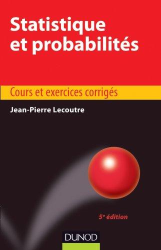 Statistique et probabilits - 5e dition