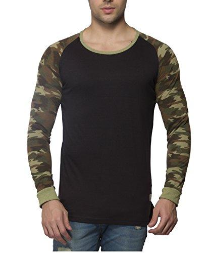 Alan Jones Camouflage Print Full Cotton T-Shirt