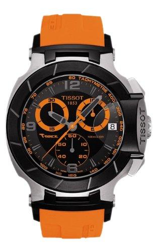 Orologio uomo Tissot T0484172705704t-race t-race analogico cronografo nero quadrante ora