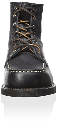 FRYE Mens Arkansas Moc Toe Boot Black
