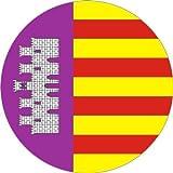 Pegatinas 25mm de diámetro Mallorca 5stk. en Juego