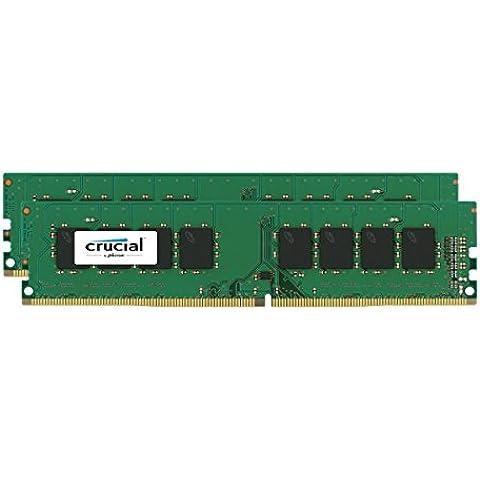 Crucial CT2K8G4DFS8213 - Memoria RAM de 16 GB (Kit 8GBx2 DDR4 2133 MT/s PC4-17000 DIMM 288)