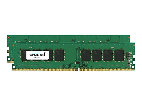 Crucial 16 GB (8 GB x 2) Single Ranked DDR4 2133 MT/s (PC4-17000) DIMM 288-Pin Memory Kit Test