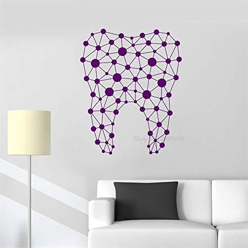 Ajcwhml Dental wandaufkleber Vinyl pumpen medizinische zahnklinik dekorative wandtattoos wohnkultur Bad wandbild 110 cm x 136 cm (Ninja-pumpe)