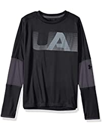 Under Armour Tech tee - Camiseta de Manga Larga para niño 8c57e990ba1
