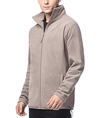 LAPASA Men's Microfibre Fleece Ziped Jacket - Autumn - Winter - Outdoor Sports, Hiking, Camping, Trecking – M33 : everything £5 (or less!)