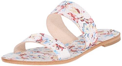 Joie Sable Cuir Sandale Floral White