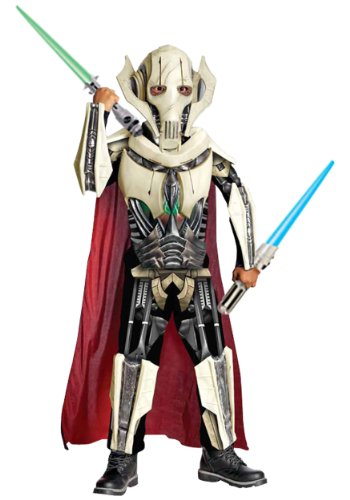 Rubies Costume Co R884521-M Jungen Deluxe Star Wars General Grievous Kost-m ()