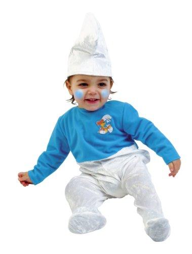 Baby Schlumpf Kostüm, Grösse ()