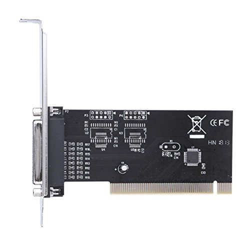akaddy pci351q Parallel Interface Expansion Card Adapter w/CD Diver für Drucker -