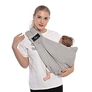Cuby Baby Slings Carrier for Newborns and Breastfeeding (Grey) Ergobaby Four ergonomic positions Maximum comfort for parent Comfort & proper ergonomics for baby 10