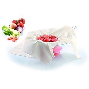 Westmark Seih-/Passiertuch, Knödeltuch, Baumwolle, 60 x 60 cm, Weiß, 11932260