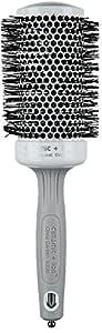 Olivia Garden Rundhaarbürste Ceramic + Ion 55, antistatische Rundbürste (Ionen Haarbürste) mit Keramikkörper und Nylonborsten, 55/ 70 mm