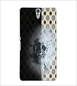 PrintDhaba Skull D-4942 Back Case Cover for SONY XPERIA C5 ULTRA (Multi-Coloured)