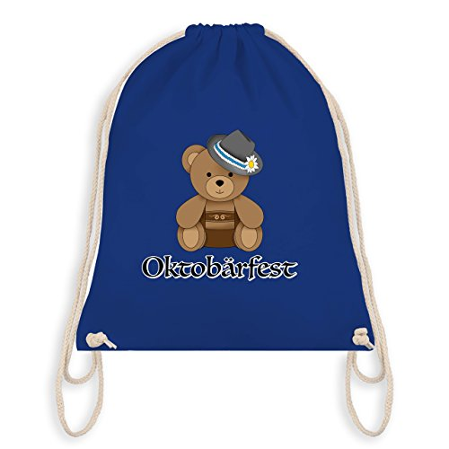 Oktoberfest Kind - Oktobärfest Teddy - Unisize - Royalblau - WM110 - Turnbeutel & Gym Bag