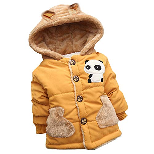 BeautyTop Kinder Baby Mädchen Mantel Winter Warme Coat Baby Jacke Winterjacke Baby Kleinkind Mädchen Fell Warm Winter Coat Mantel Jacke Dicke warme Kleidung