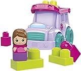 Mega Bloks DYT61 Pink School Bus