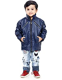 Life Trading Fashionable Faux Leather for Boys