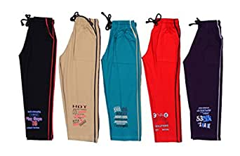1Ly Cargos Boy's Cotton Relaxed Shorts (Pack of 5) -Multi-Coloured, (2-3Yrs)