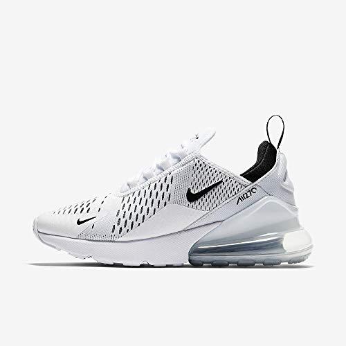 Nike Damen W Air Max 270 Fitnessschuhe, Weiß Black-White 100, 38 EU