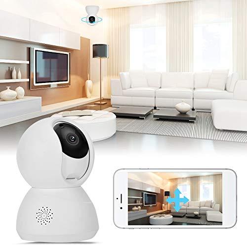 Nannday Indoor Überwachungskamera, 1080P Cloud Storage Wireless Home Security Smart Kamera APP-Steuerung mit IR-Nachtsicht für Shop Store Home Office(UK)