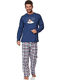 Cornette Ensemble Pyjama Homme I Like Snow