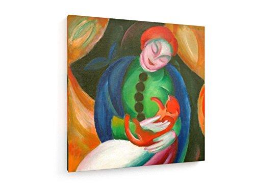 marc-muchacha-con-el-gato-ii-1912-100x100-cm-weewado-impresiones-sobre-lienzo-muro-de-arte-antiguos-