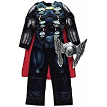 Thor Fancy Dress Costume with Mask Age 5-6 Years …