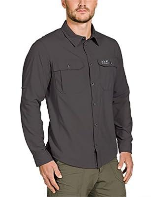 Jack Wolfskin Herren Hemd Mosquito Safari Shirt Men von Jack Wolfskin - Outdoor Shop
