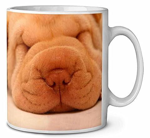 Niedliche Shar- Pei Hündchen Kaffeetasse Geburtstag / Weihnachtsgeschenk