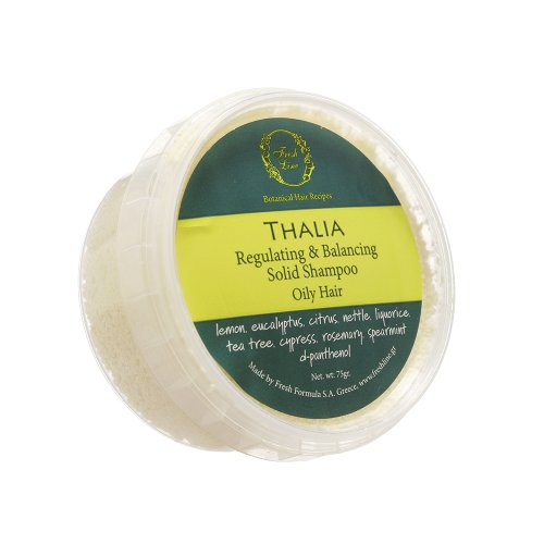 Fresh Line Thalia regulierendes und ausbalancierendes festes Shampoo gegen fettendes Haar, 1er Pack