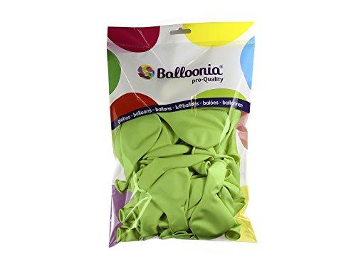 Balloonia - Globos estándar-pastel, color verde menta (Hispánica de Globos...