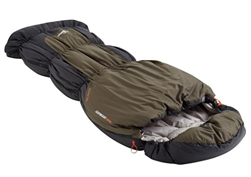 Nomad Triple-S Junior Sleepingbag Junior Charcoal/Whale 2016 Schlafsack - 2