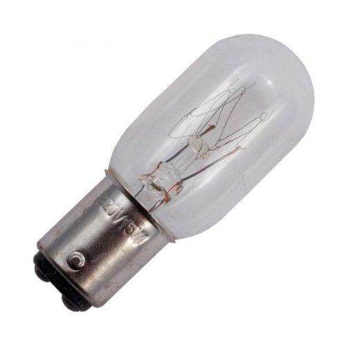 15w Lampe (1 x Glühbirne/Nähmaschinen-Lampe Bajonett Steckfassung/15 W)