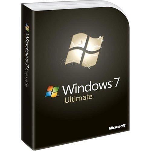 Microsoft Windows 7 Ultimate [Old Version] Test